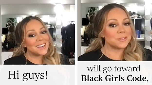Mariah Carey glows as she supports Black Girls CODE with the help of Gemini cryptocurrency exchange Image